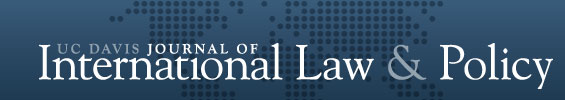 UC Davis Journal of International Law & Policy